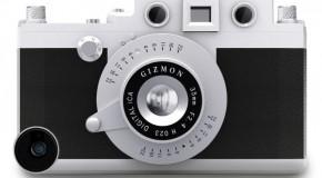 気分は一眼レフ!本格カメラ型iPhoneケース「GIZMON iCA5」