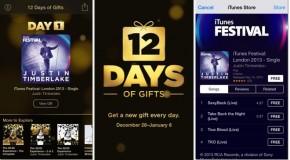 Appleの「12Days of Gifts」始まる