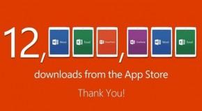iPad用のOfficeが1週間で12万ダウンロード達成 ❶
