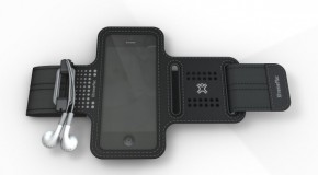 ジョギング中でもストレスなくiPhoneを持ち運び!「XtremeMac 軽量スポーツアームバンド スポーツラップシリーズ」