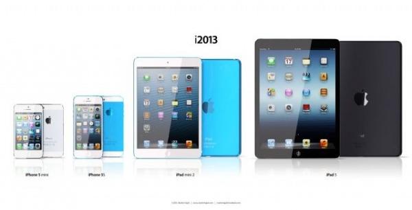 iPhoneミニ、iPhone5SそしてiPad5はこんな感じ?【イメージ画像あり】