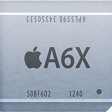 iPhone A6Xチップ