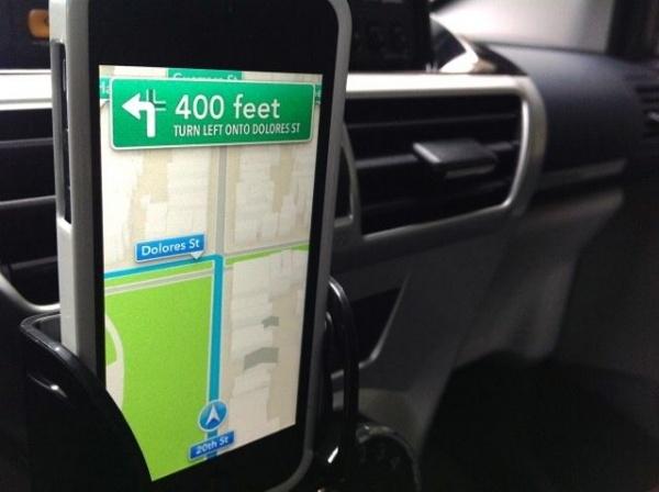 iOS Mapアプリ