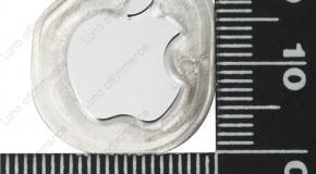 次世代iPhoneのロゴとカメラリングのリーク写真