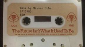 スティーブ・ジョブス 30年前に既にiPadを構想していた事が明らかに!