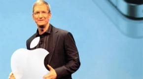 アップルのクックCEO イベントで業績発表