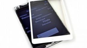 AUオプティックス iPad mini 2のディスプレイ生産開始か?