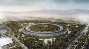 アップルのスペースシップ・キャンパスの完成は2016年中盤か