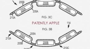 アップル「iWatch」用と思われるフレキシブルバッテリーの特許申請