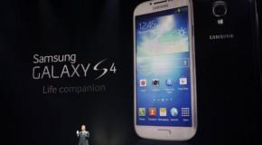 サムスン 新Galaxy S4でアップルiPhoneに対抗