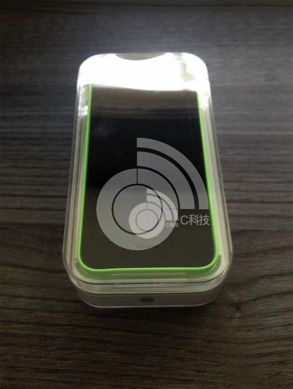 iphone5c グリーン