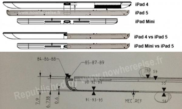 iPad5 設計図 2