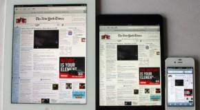 アップル iPad5とiPad mini 2を今年の3月にリリースか