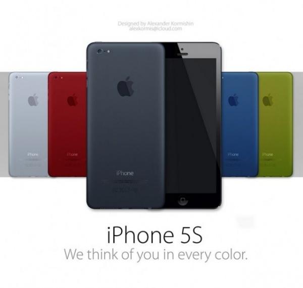 iPhone5S iPhone6 カラーバージョン
