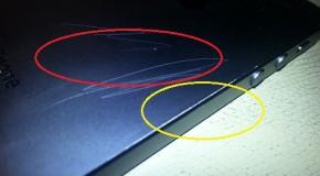 黒のiPhone 5は傷がつきやすいとのレポート有り