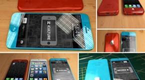 4インチと4.5インチの低価格iPhoneのリアルなコンセプトモデル【画像あり】