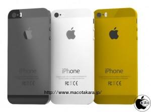 iPhone5s黒、白、ゴールド