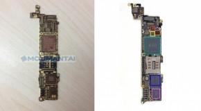 iPhone5Sのメイン基板が流出か