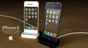 iPhone6 クールな透明ディスプレイのコンセプト画像