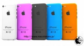 iPhone5Sは黒、白、ゴールドの3色展開か