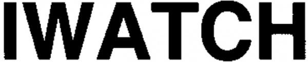 iWatchロゴ