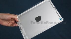 iPad miniライクなiPad5の背面パネルが流出