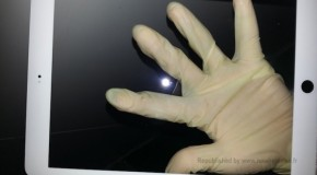 iPad5の全面パネルと思われる画像が流出!現行よりもベゼル幅狭く