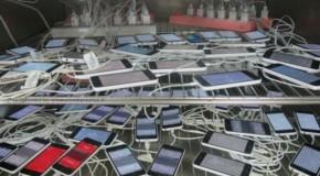 iPhone5C 検査中の大量の端末画像が流出