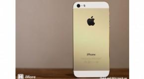 iPhone5S シャンパンカラーはハイエンド向けのオプションか?