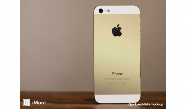 iphone5s gold モックアップ