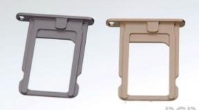 iPhone5Sのマルチカラー展開を証明する色付きSIMトレイ画像が流出か。