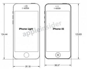 iphone5s 寸法図1