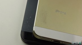 iPhone5S vs. iPhone5 スクラッチテスト比較動画