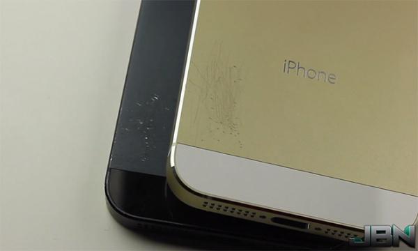 iphone5s スクラッチテスト