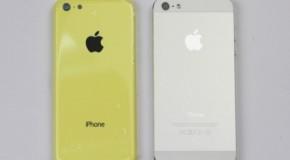 iPhone5とiPhone Liteの比較画像