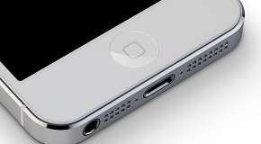 iPhone5S 指紋センサー付きサファイアクリスタルのホームボタンを採用か