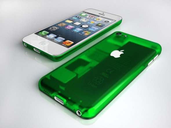 iphone mini グリーン イメージ画像
