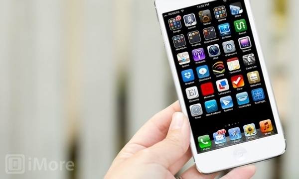 大型ディスプレイiPhone